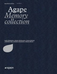 Agape - Catálogo - Memory Collections