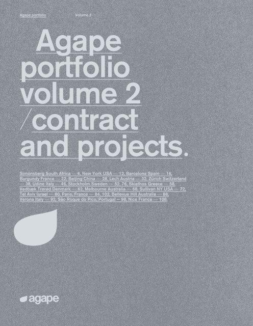 Agape - Catálogo - Portfolio contract volume 2