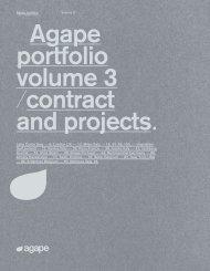 Agape - Catálogo - Portfolio contract volumen 3
