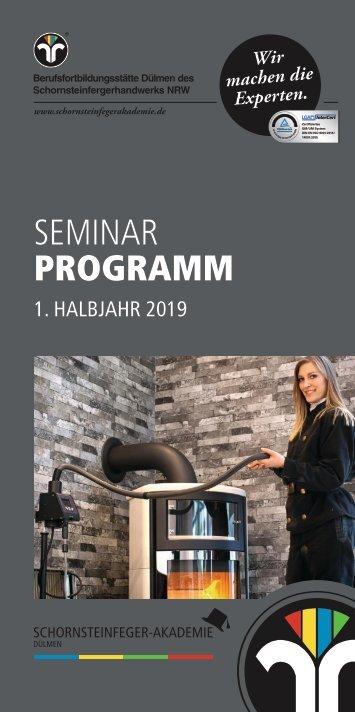 Schornsteinfeger-Akademie Programm 2019