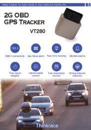 Best Car tracking device | VT280 - ThinkRace