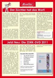 Die ZDRK-DVD 2011 - Muskator-Werke GmbH