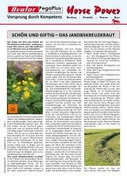Schön und giftig – daS jakobSkreuzkraut - Muskator-Werke GmbH