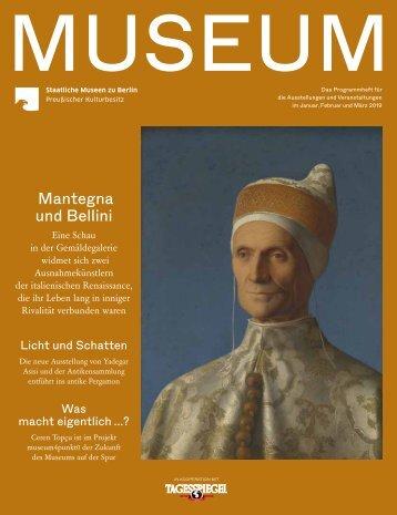 MUSEUM I 2019 - Programmheft der Staatlichen Museen zu Berlin