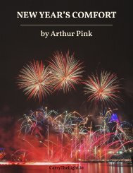 New Year's Comfort by Arthur Pink
