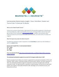 Lab Automation Market : What will your New Revenue Sources be?