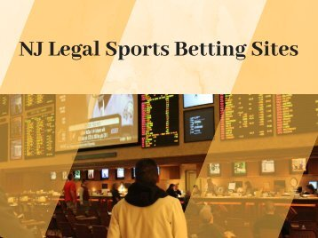 NJ Legal Sports Betting Sites