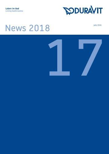 Duravit Catalogo Novedades + Tarifa 2018