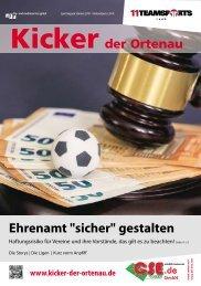 Kicker der Ortenau Sommer 2018/2019