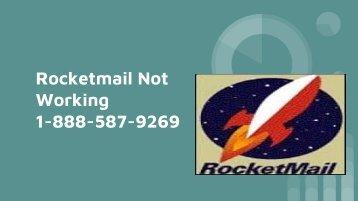 Rocketmail Not Working 1-888-587-9269