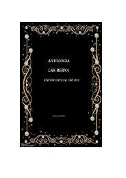 Antologia  nª3 LAK-BERNA