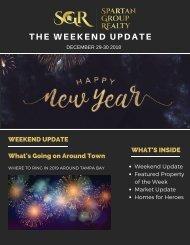 The Weekend Update: December 29-30, 2018