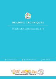 06 Reading Techniques Balbharti words Std 4.2.8
