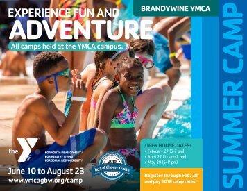 Summer Camp 2019 at Brandywine YMCA