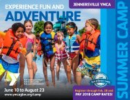 Summer Camp 2019 at Jennersville YMCA