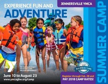 Summer Camp 2019 at Jennersville YMCA