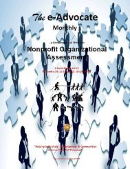 Nonprofit Organizational Assessment