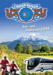 Linner Reisen Katalog - 2019