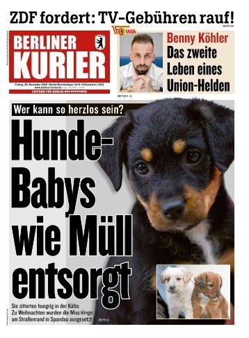 Berliner Kurier 28.12.2018