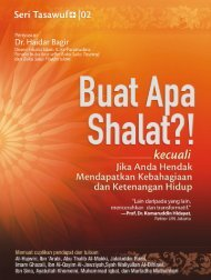 003.  Buat Apa Shalat - Dr Haidar Bagir