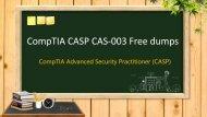Latest CompTIA CASP CAS-003 practice test