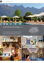 Grand Resort Bad Ragaz - Travelcms.de