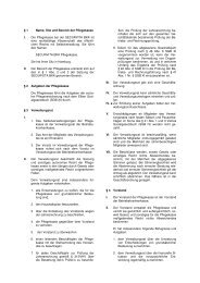 Aktuelle Satzung: SECURVITA BKK Pflegekasse
