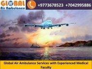 Global Air Ambulance Service in Jaipur at Reasonable Price