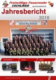 Jahresbericht 2018 FF Eschlried