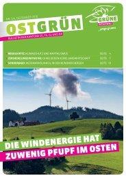 OSTGRUEN, Ausgabe 3-4/2018