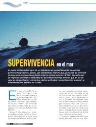 Revista Mar 579 - ABR 2018 - SUPERVIVENCIA en el mar
