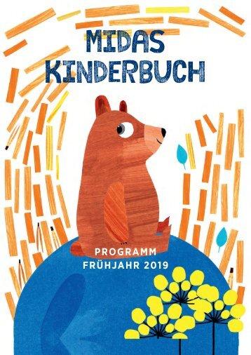 Programm Midas Kinderbuch Frühling 2019