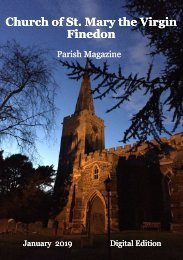 St Mary's January 2019 Parish Magazine