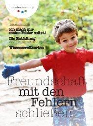 Broschüre Montessori Frühjahr 2019
