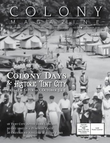 2018 October Colony Magazine