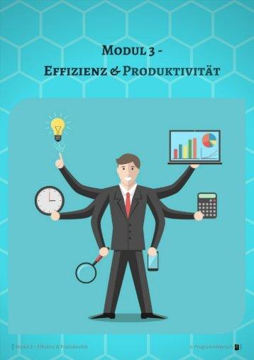 Kurs 2 - Modul 3 - Effizienz und Produktivität - min