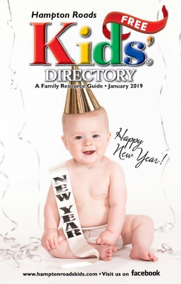 Hampton Roads Kids' Directory:  January 2019