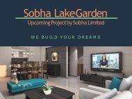 Sobha lake garden