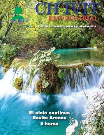 Revista Ch´ivit Empresarial Diciembre 2018.