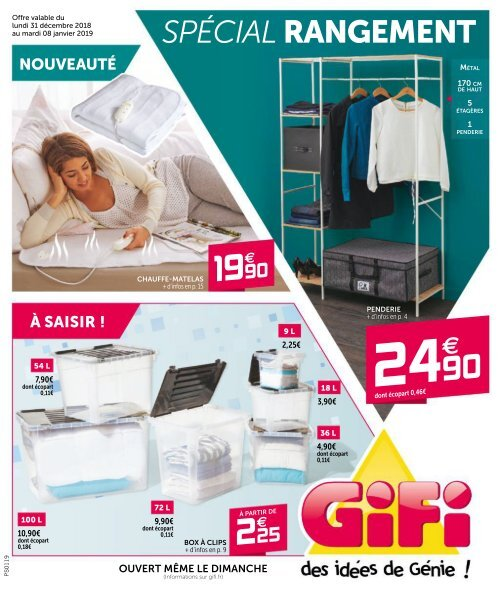 Gifi Catalogue 31 Dec 2018 8 Jan 2019