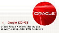 Oracle 1Z0-933 Exam Questions Answers