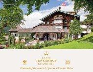 Tennerhof Gourmet & Spa de Charme Hotel Kitzbühel - Deutsch - Sommer 2019