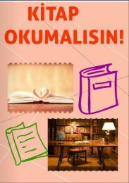KİTAP OKUMALISIN!!!