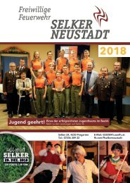 Das Jahr 2018 - FF Selker-Neustadt