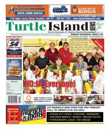 Turtle Island News - 01/02/2019