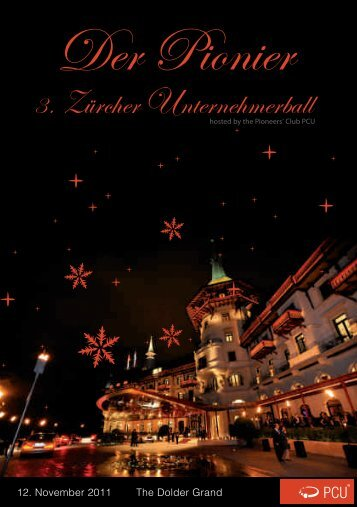 12. November 2011 The Dolder Grand - Unternehmerball