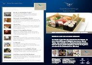 Sushi & Sashimi Angebot - Grand Resort Bad Ragaz