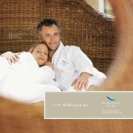 To B. Wellbeing & Spa - Grand Resort Bad Ragaz