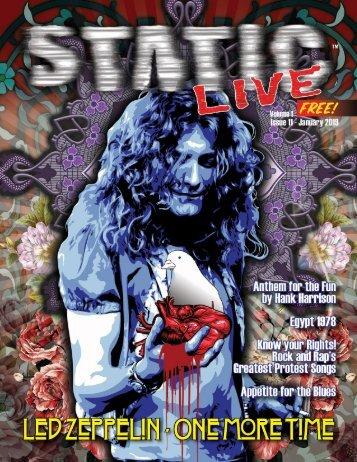 Static Live Magazine January 2019
