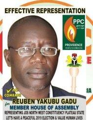 Comrade Reuben Yakubu Gadu! (1)